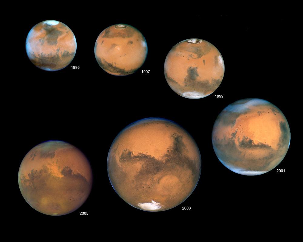 المريخ وزحل في أقرب نقطة من الأرض