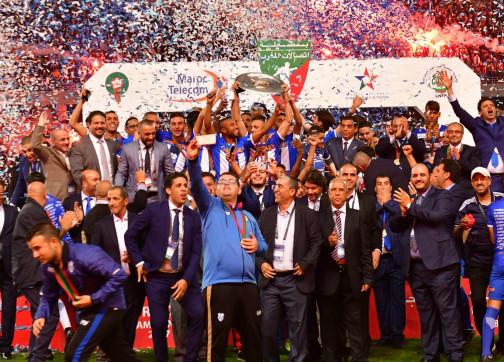 اتحاد طنجة يحتفل بالإنجاز التاريخي