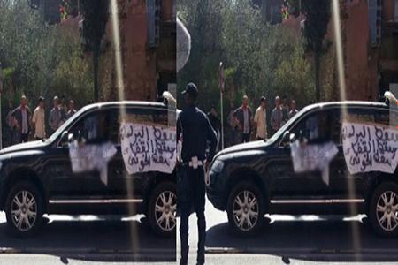 سيارة رباعية الدفع تستنفر قوات الأمن بمراكش