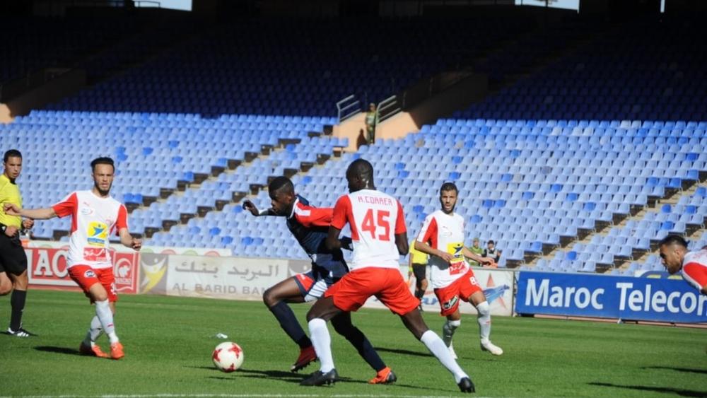 إدارة الكوكب المراكشي تراسل جامعة فوزي لقجع لإلغاء نتيجة مباراة اولمبيك اسفي واعادتها في ملعب محايد.