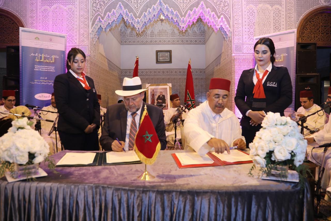 توقيع اتفاقية شراكة لتنظيم ملتقى مراكش الدولي الأول للولاية والسلوك