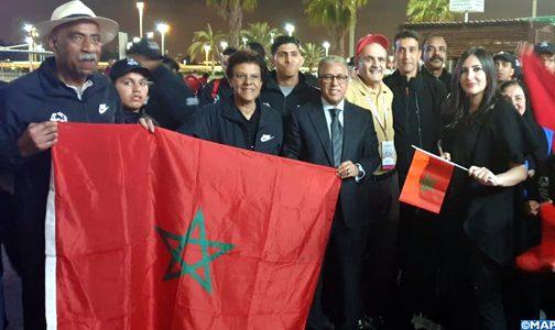 وفد الأولمبياد الخاص المغربي يحل بأبوظبي للمشاركة في منافسات الألعاب العالمية للأولمبياد الخاص 2019
