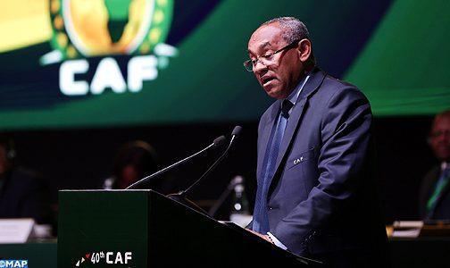 """الجمع العام ال40 للكونفرالية الافريقية لكرة القدم: """"المغرب ليس في حاجة ليبرهن عن قدراته التنظيمية"""" (السيد أحمد أحمد)"""