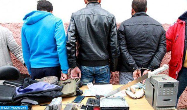 الجديدة.. توقيف خمسة مشتبه فيهم في إطار عصابة إجرامية متخصصة في السرقة باستعمال السلاح الأبيض