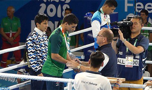 الملاكم ياسين الورز يهدي المغرب ثالث ميدالية فضية في الألعاب الأولمبية للشباب ببوينوس أيريس