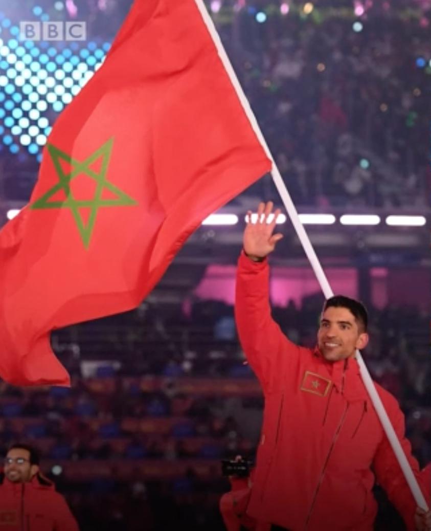من هم الرياضيون العرب المشاركون في الأولمبياد الشتوي؟