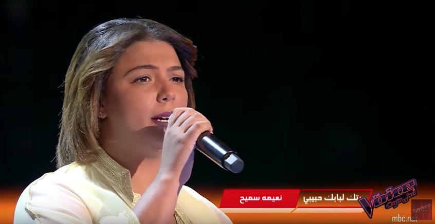 شيماء عبد العزيز الفنانة المراكشية تهز عرش دو فويس