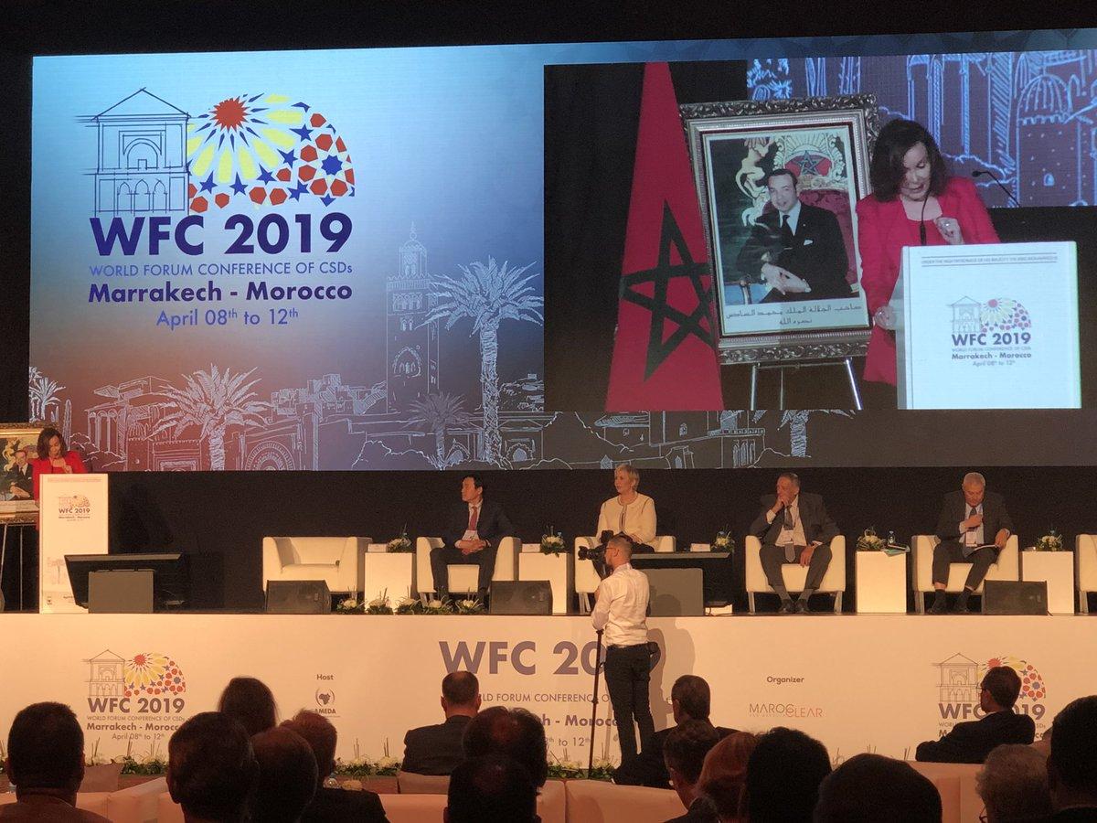 بمراكش انعقاد المنتدى العالمي الخامس للودائع المركزية لسندات القيم المنقولة