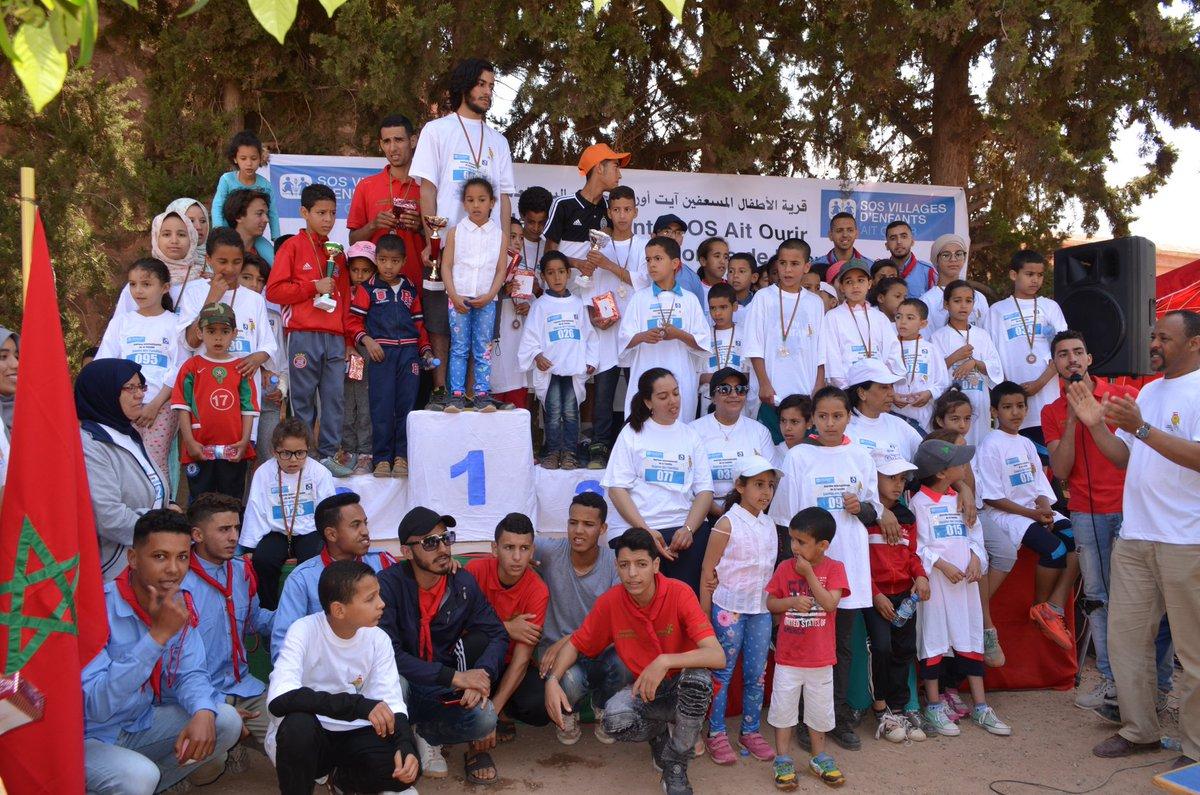 بجهة مراكش آسفي أبواب مفتوحة رمضانية احتفاء باليوم العالمي للأسرة بفضاء قرية الأطفال sos بأيت أورير إقليم الحوز