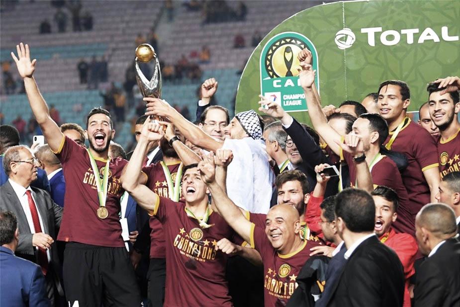 الكاف يسحب الكأس من الترجي و يعيد نهائي دوري أبطال افريقيا خارج تونس