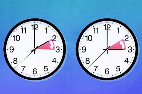 الساعة القديمة قادمة في هذه الساعة