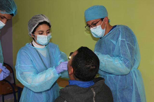 شركة أولا إينيرجي تنظم قافلة طبية لصحة الفم و الأسنان لفائدة معوزي شيشاوة