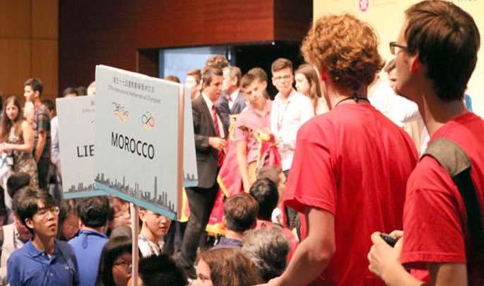 المغرب ممثل بعشرة مشاركين في الأولمبياد الدولية في مادة الرياضيات