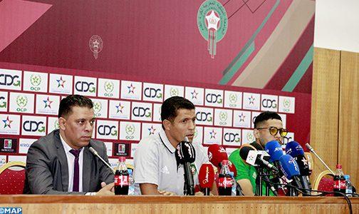 الطاقم التقني استدعى لاعبين محليين ذوي خبرة لضمان التأهل الى (الشان) 2020 (حسين عموتة)