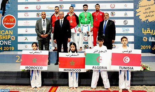 بطولة المنطقة الأولى الإفريقية للكراطي …المنتخب المغربي يحتل المرتبة الثانية بإحرازه ل43 ميدالية