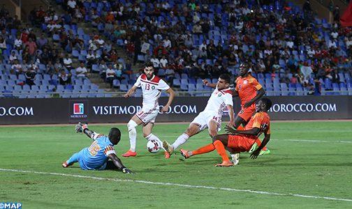 المنتخب المغربي لكرة القدم يتغلب على منتخب النيجر بهدف نظيف