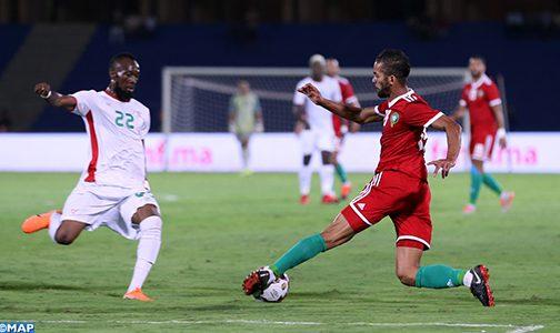 المنتخب المغربي لكرة القدم يتعادل مع نظيره البوركينابي وديا