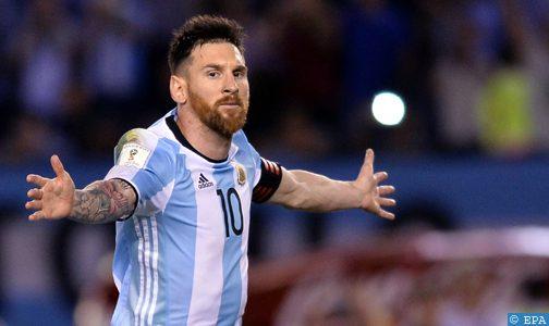 ميسى أفضل لاعب فى العالم لسنة 2019