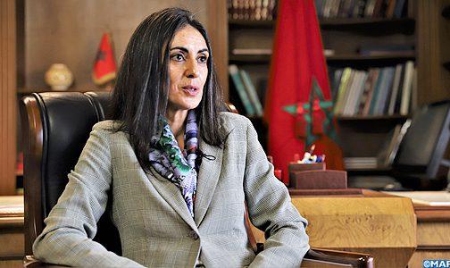 السيدة فتاح العلوي تتطلع إلى رفع القيمة المضافة وفرص الشغل في القطاع السياحي