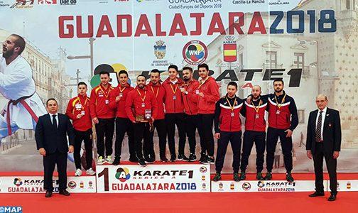 البطولة المفتوحة في رياضة الكراطي بغوادا لاخارا ( الفئة أ ) .. المغرب يفوز بالميدالية الذهبية في صنف ( الكاطا )