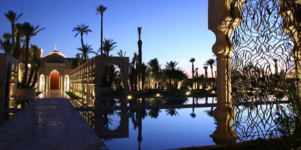 كناريان باي للفنادق تضم قصر نماسكار مراكش