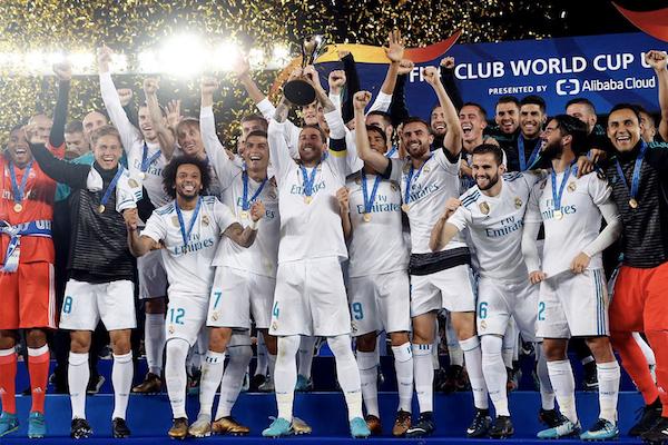 ريال مدريد أفضل نادٍ في أوروبا
