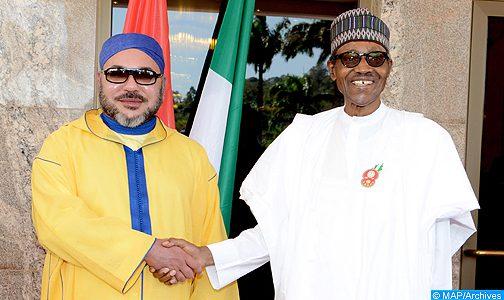 جلالة الملك يتباحث هاتفيا مع الرئيس النيجيري محمدو بوهاري عقب إعادة انتخابه رئيسا لبلاده