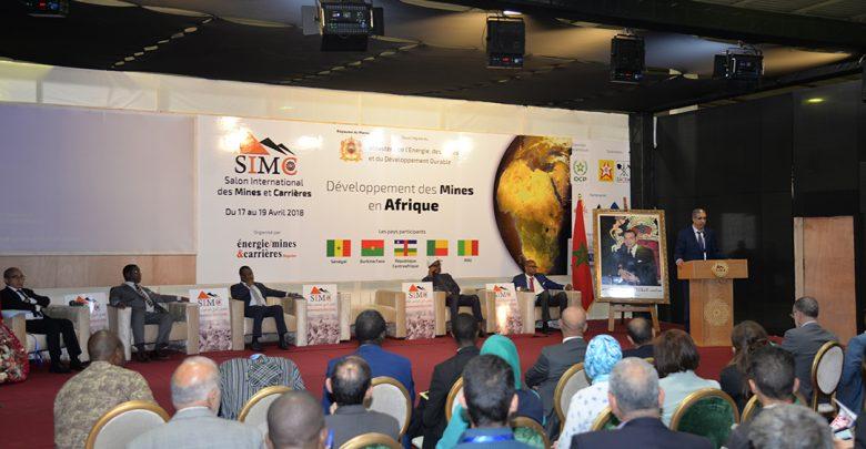 في إطار الإستراتيجية الوطنية للتنمية المستدامة لبلادنا تنظيم النسخة السادسة من المعرض الدولي للمناجم والمقالع