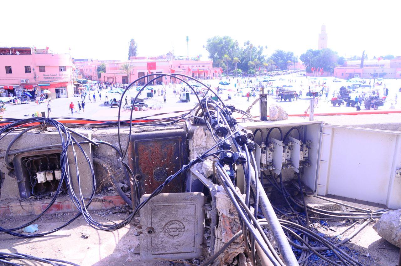 لاراديما ..الضغط المتزايد على علبة التزويد الكهربائي هو ما سبب الحريق في المولد الكهربائي للساحة