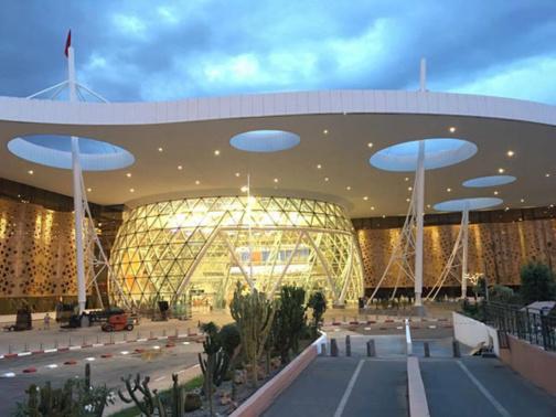 ارتفاع عدد المسافرين بمطار مراكش المنارة بأزيد من 21 في المائة خلال السبعة أشهر الأولى من السنة الجارية