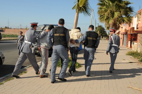 درك آيت أورير يوقف عصابة الأسلاك الكهربائية