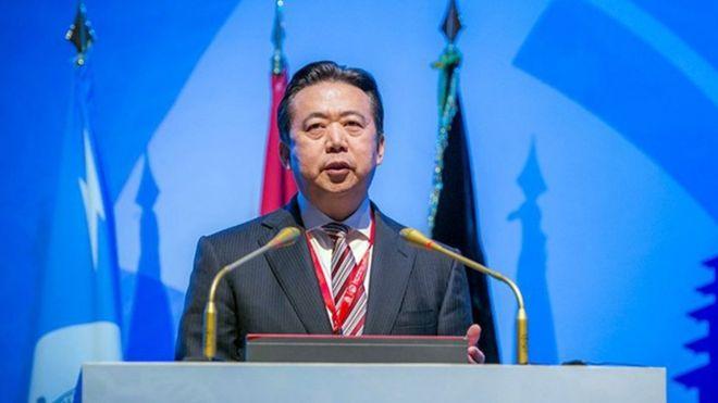 الصين تتهم رئيس الإنتربول بتقاضي رشوة