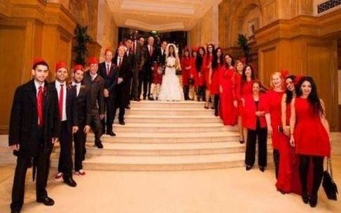 حفل زفاف أسطوري للفنانة المغربية سناء موزيان