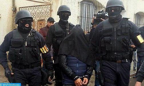 المكتب المركزي للأبحاث القضائية يتمكن من إيقاف عنصرين مواليين لما يسمى بداعش ينشطان بمدينة الرباط