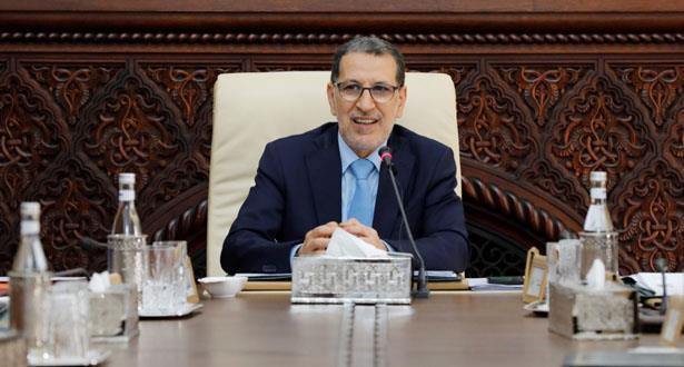 سعد الدين العثماني يترأس غدا مجلس الحكومة