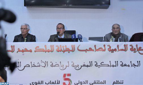 الملتقى الدولي لألعاب القوى للأشخاص المعاقين: دورة مراكش ستكون من أجل المنافسة على حجز بطاقة للألعاب البارالمبية طوكيو 2020