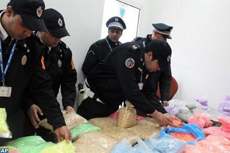 الأمن يفشل محاولة إغراق المغرب بأقراص إكستازي