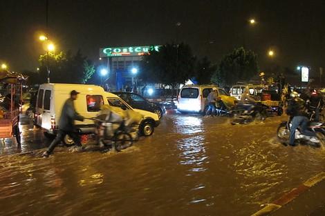 أمطار الخير بمراكش تعري معها خيبة المسؤولين