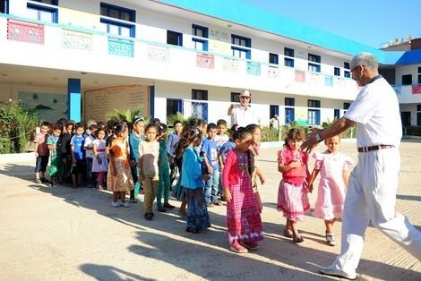 المدارس تعمل بالتوقيت العادي إلى الاثنين المقبل