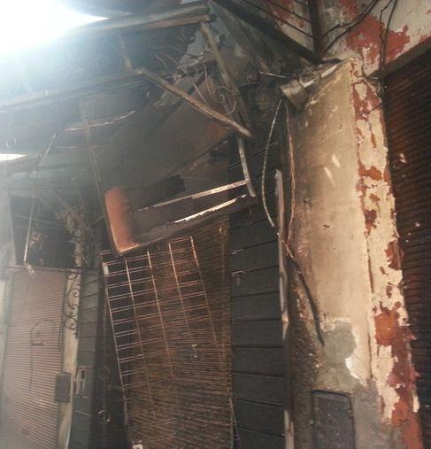 حريق هائل في السمارين بمراكش