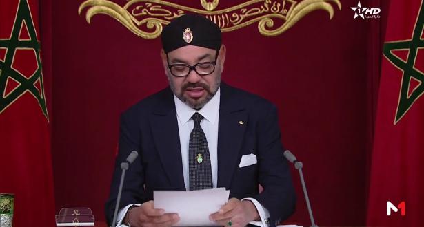 جلالة الملك يهنئ الشعب الجزائري بمناسبة فوز المنتخب الوطني الجزائري لكرة القدم بكأس إفريقيا للأمم 2019