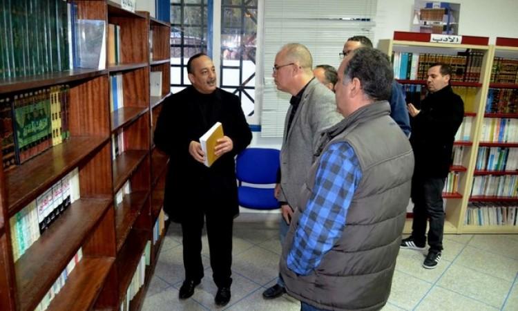 وزير الثقافة و الاتصال محمد الأعرج يتفقد مشروع توطين فرقة ثفسوين بمدينة الحسيمة