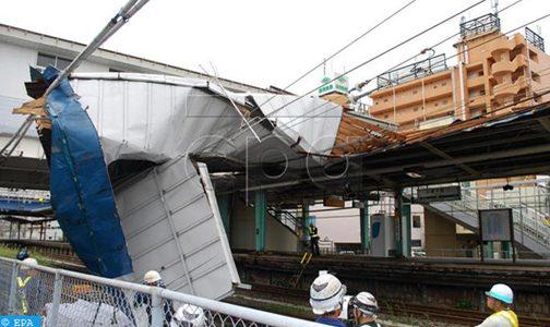 اليابان .. ثلاثة قتلى وأكثر من 50 مصابًا جراء إعصار