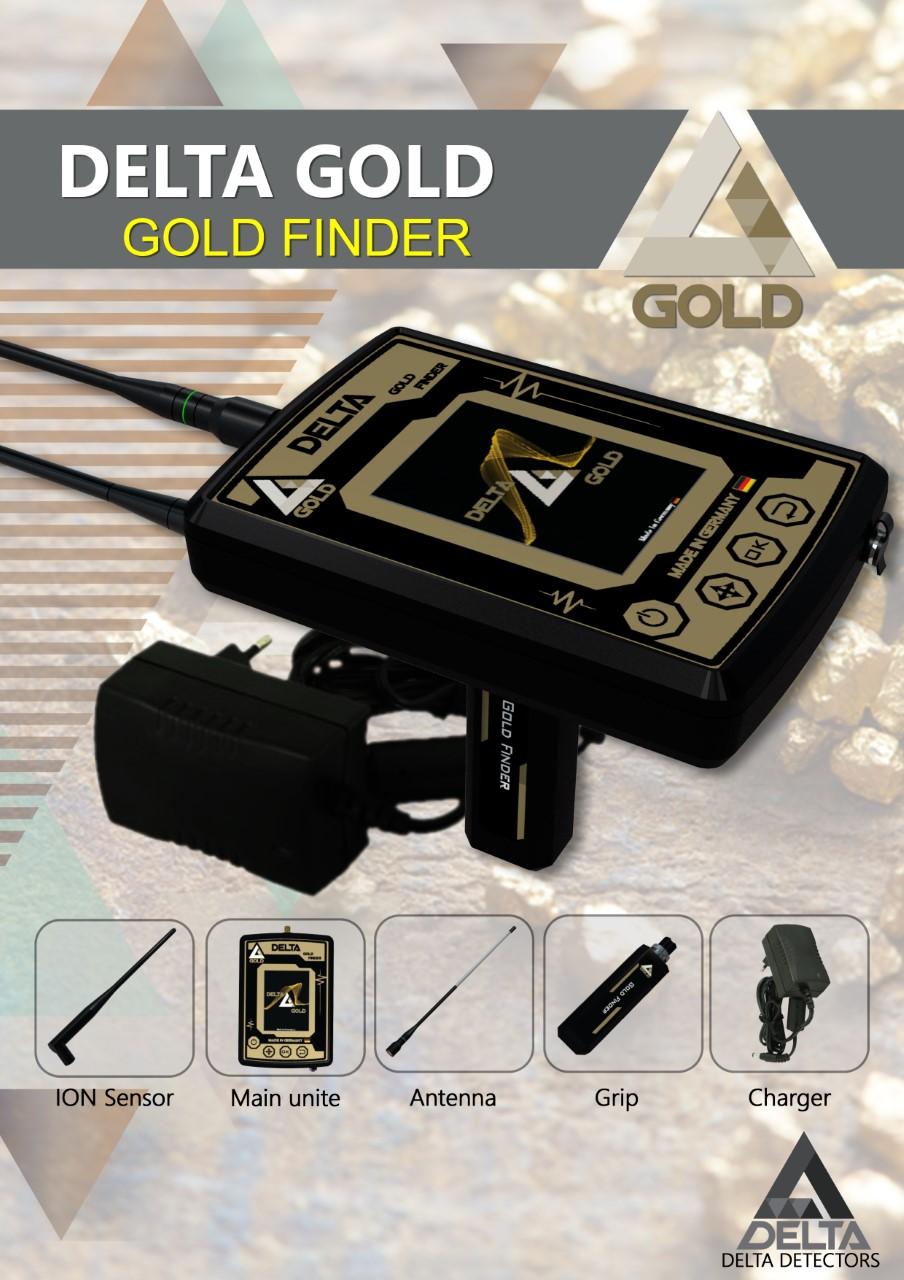 delta gold detector