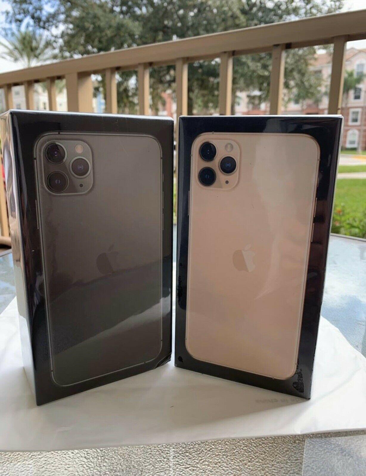 Apple iPhone 11 Pro Max - 256GB - Midnight Green (Unlocked) (CDMA + GSM)