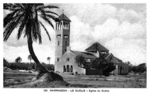 الكنيسة بحي جليز