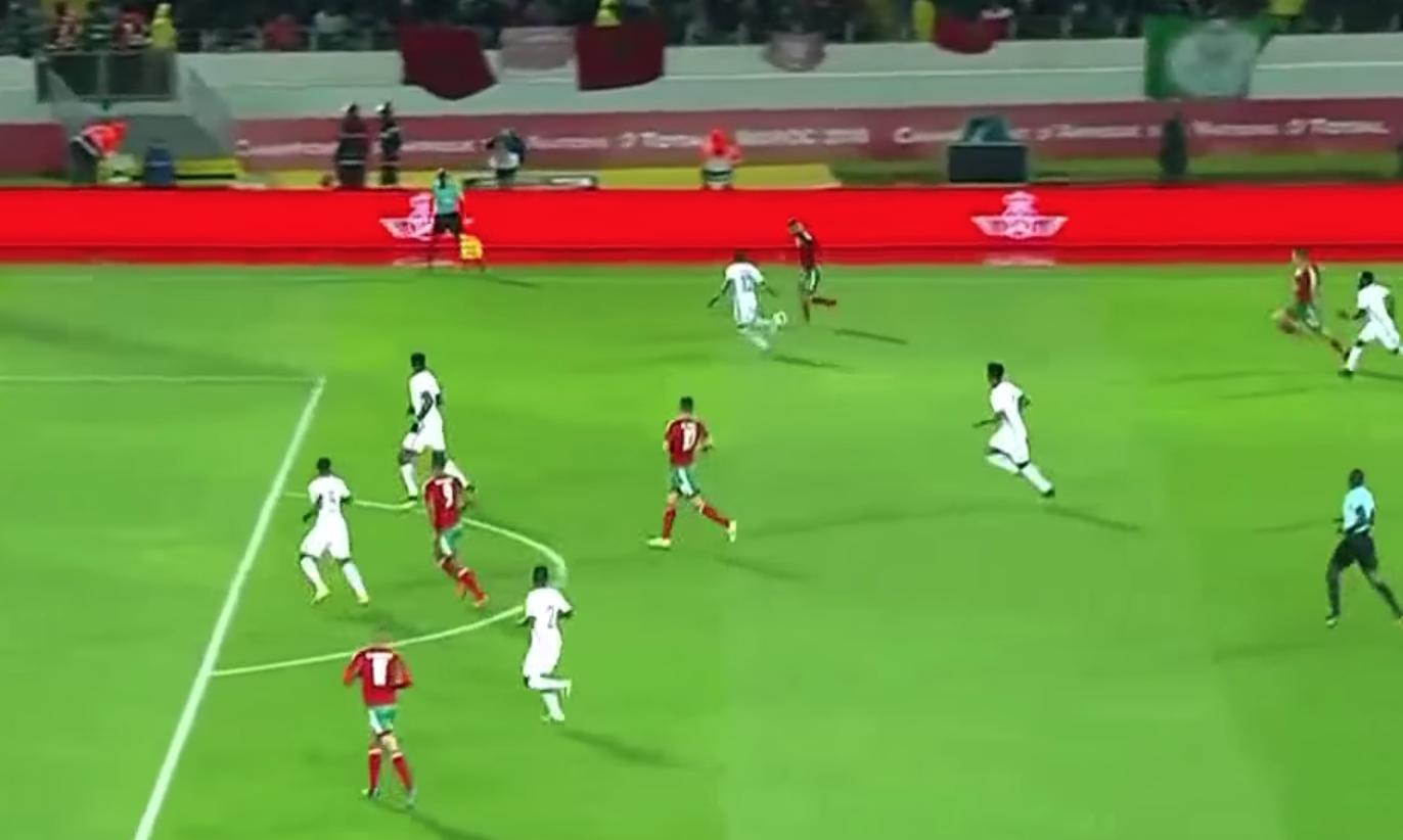 ملخص مباراة المغرب نيجيريا