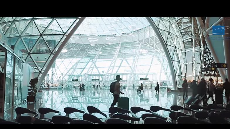 مطار مراكش من الداخل