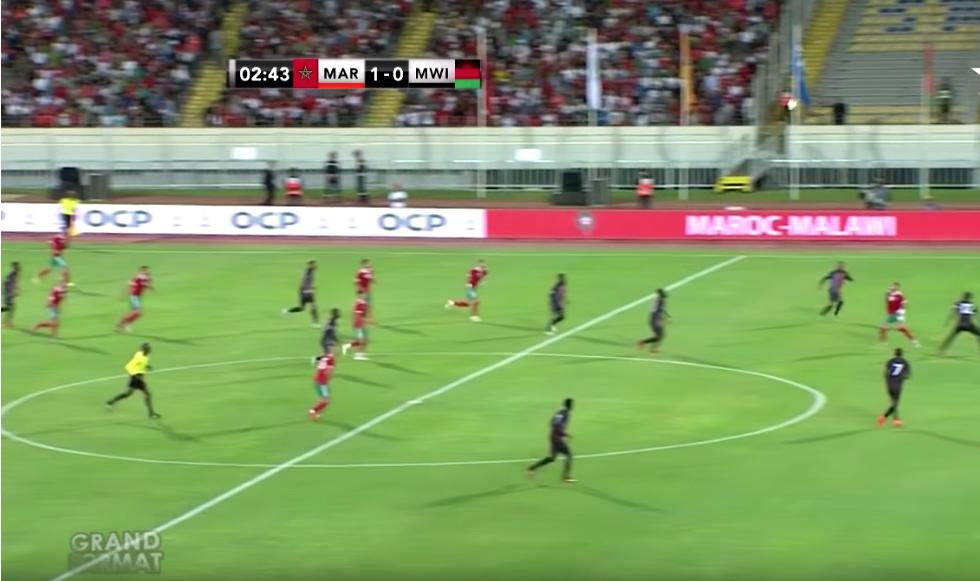 ملخص مباراة المغرب و الملاوي