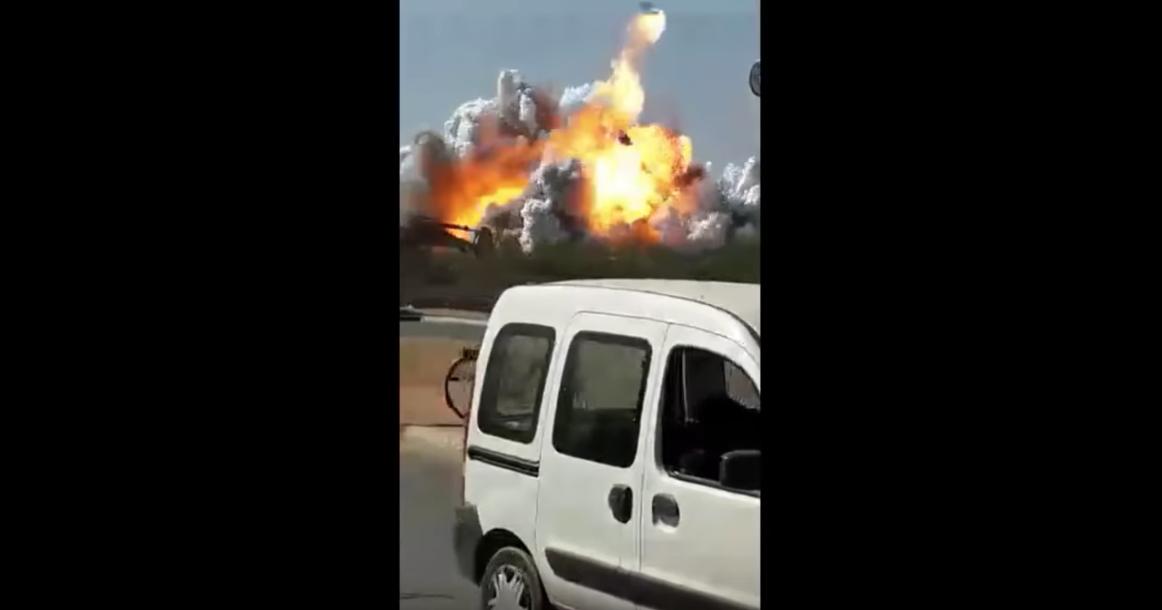 انفجار مصنع بالقنيطرة